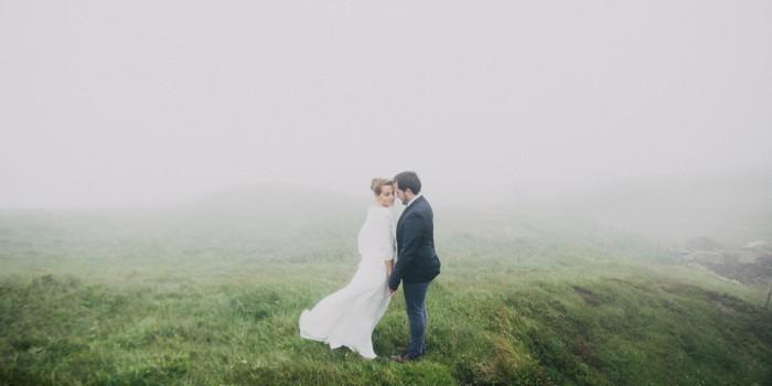 Juliane & Jurgen in the Fog