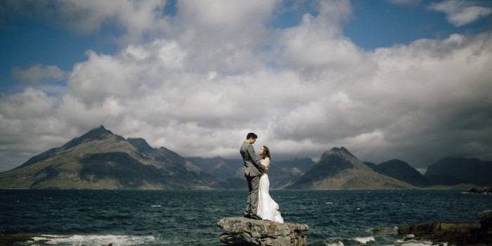 Lauren & Theo - Elopement in Isle of Skye - Scotland