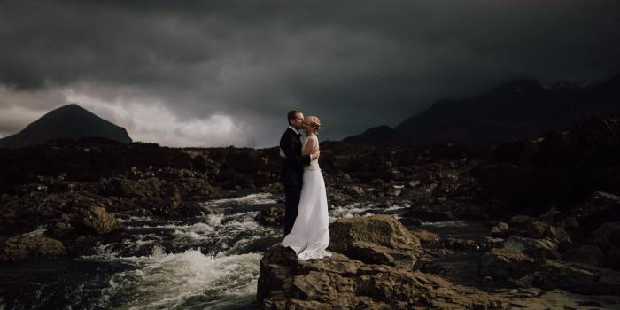 Heidi & Brad – an intimate wedding in Isle of Skye (Scotland)
