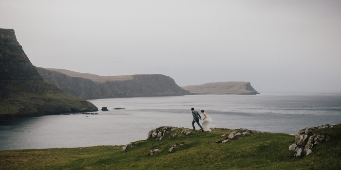Loretta and Tom - an intimate wedding in Isle of Skye (Scotland)